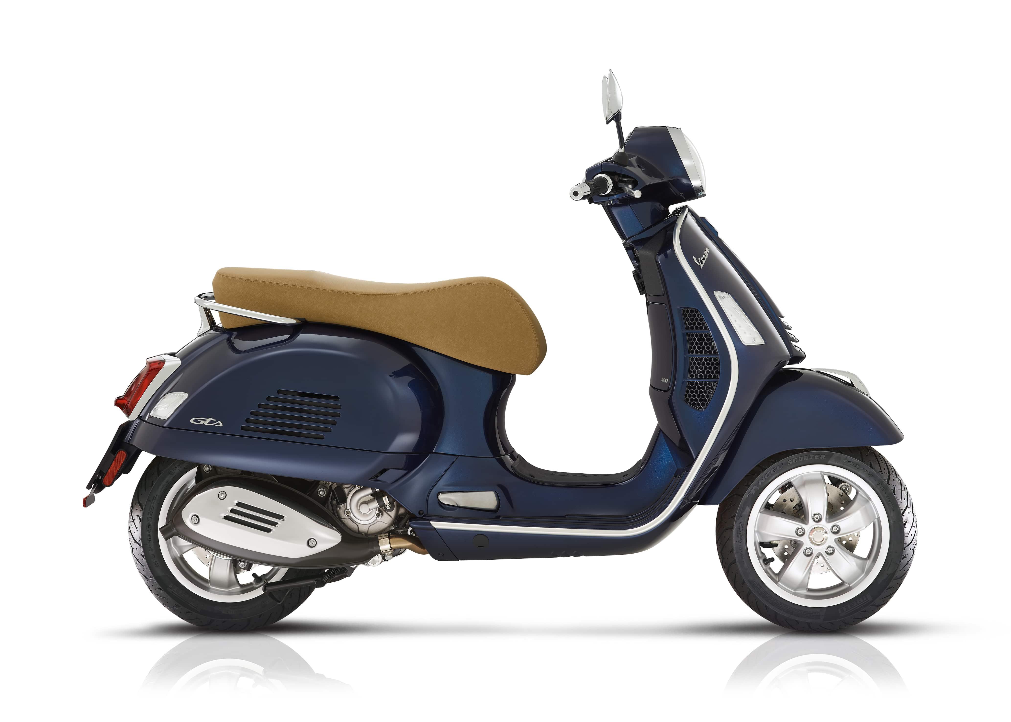 Vespa GTS classic blauw
