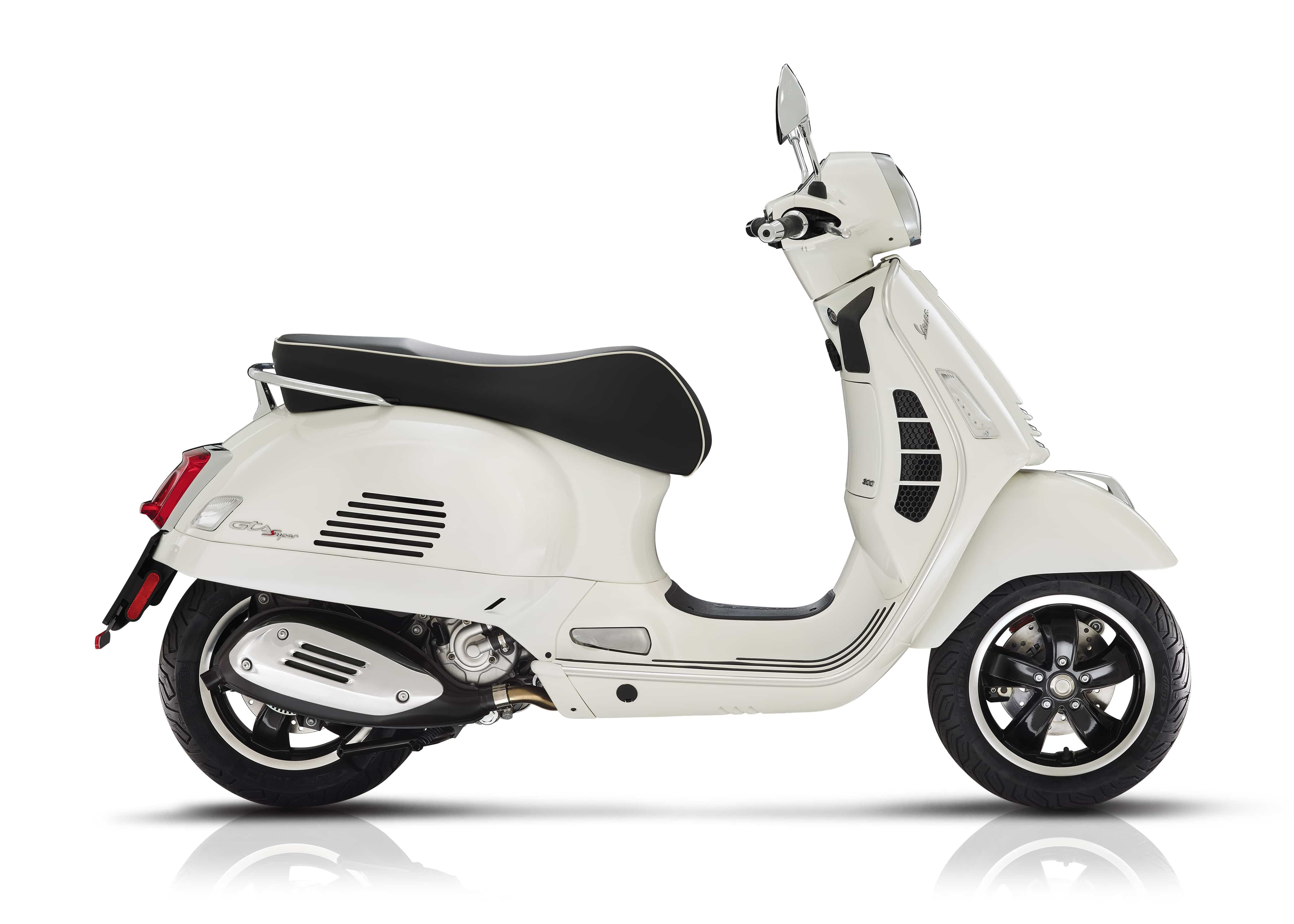 Vespa GTS super wit