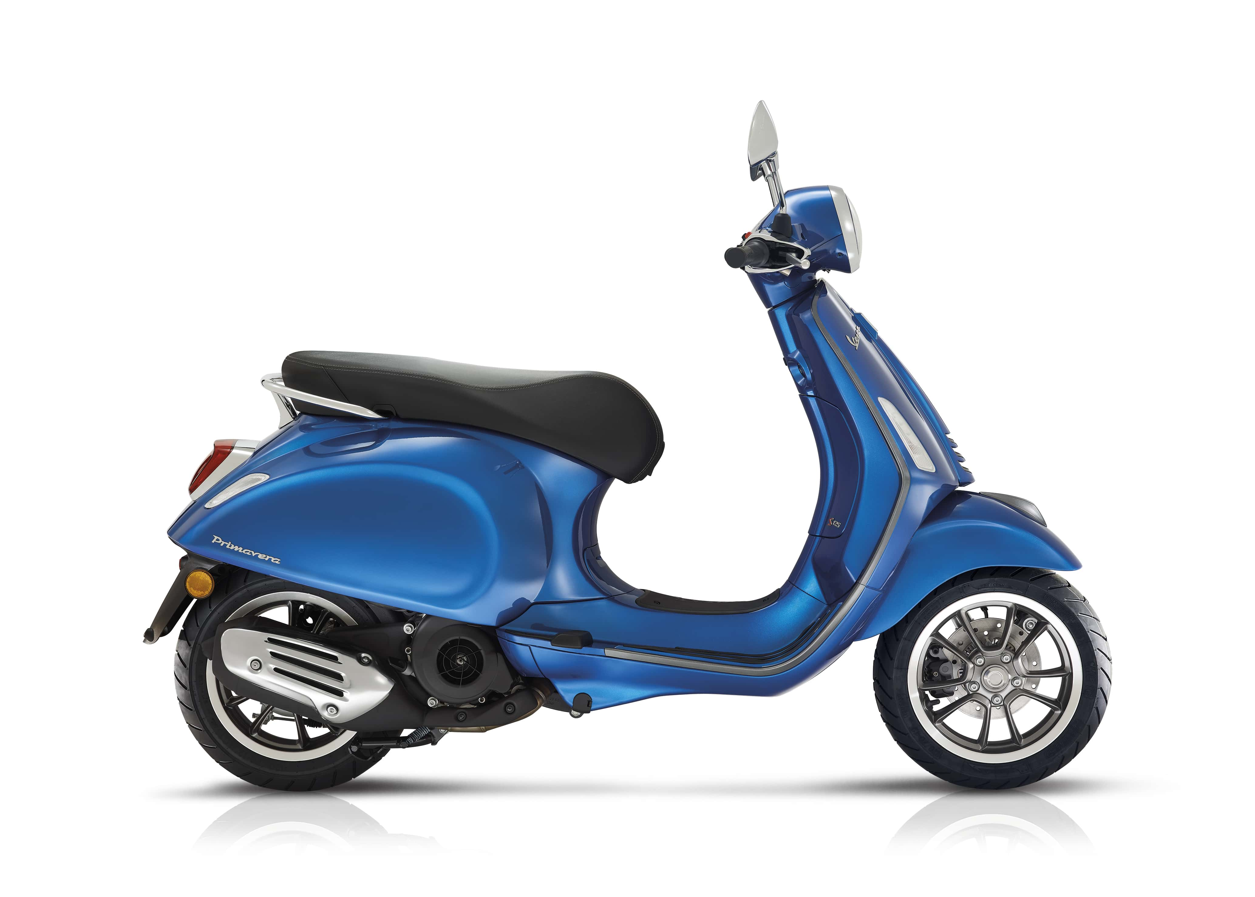 Vespa primavera sport blauw