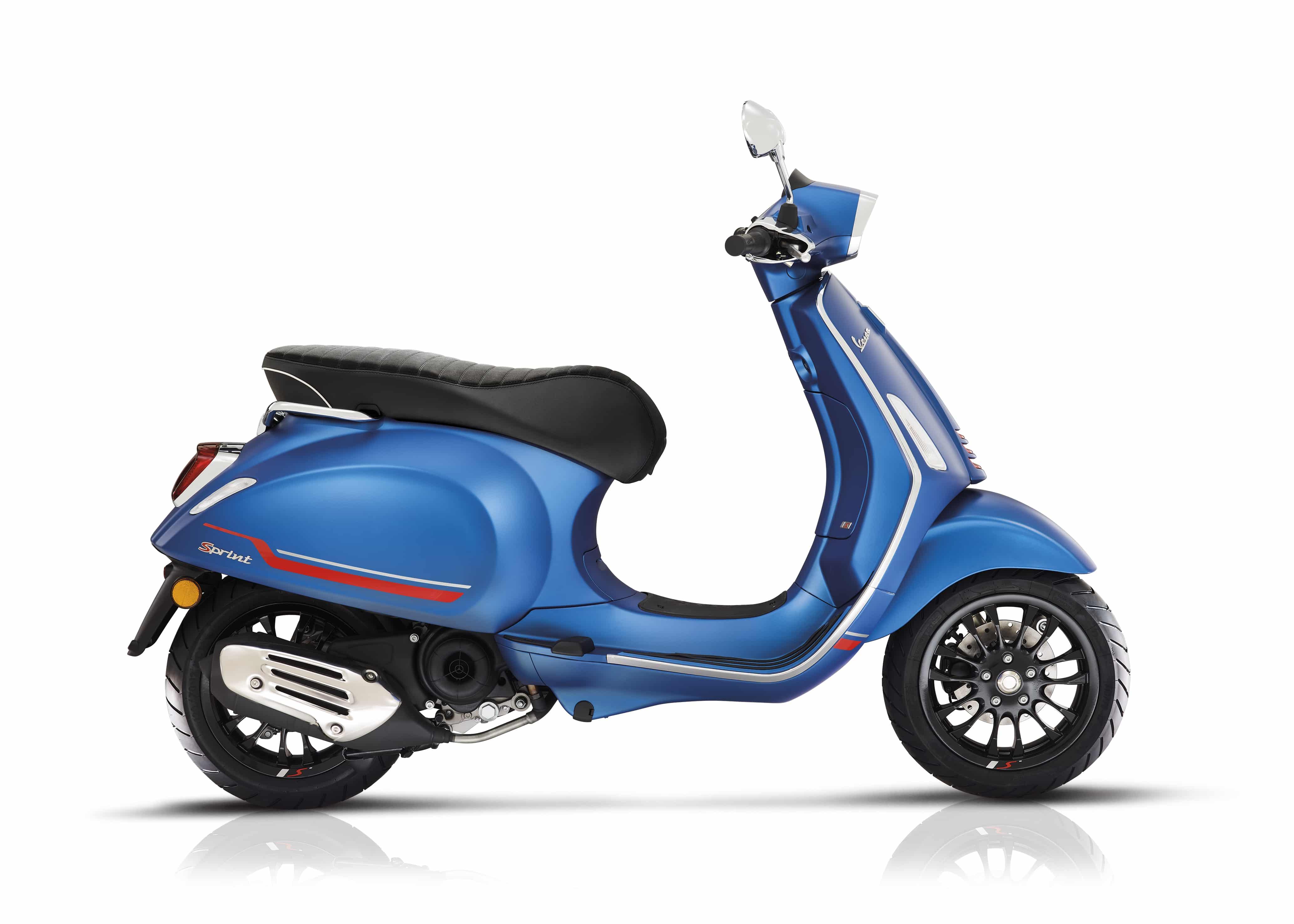 Vespa Sprint s mat blauw