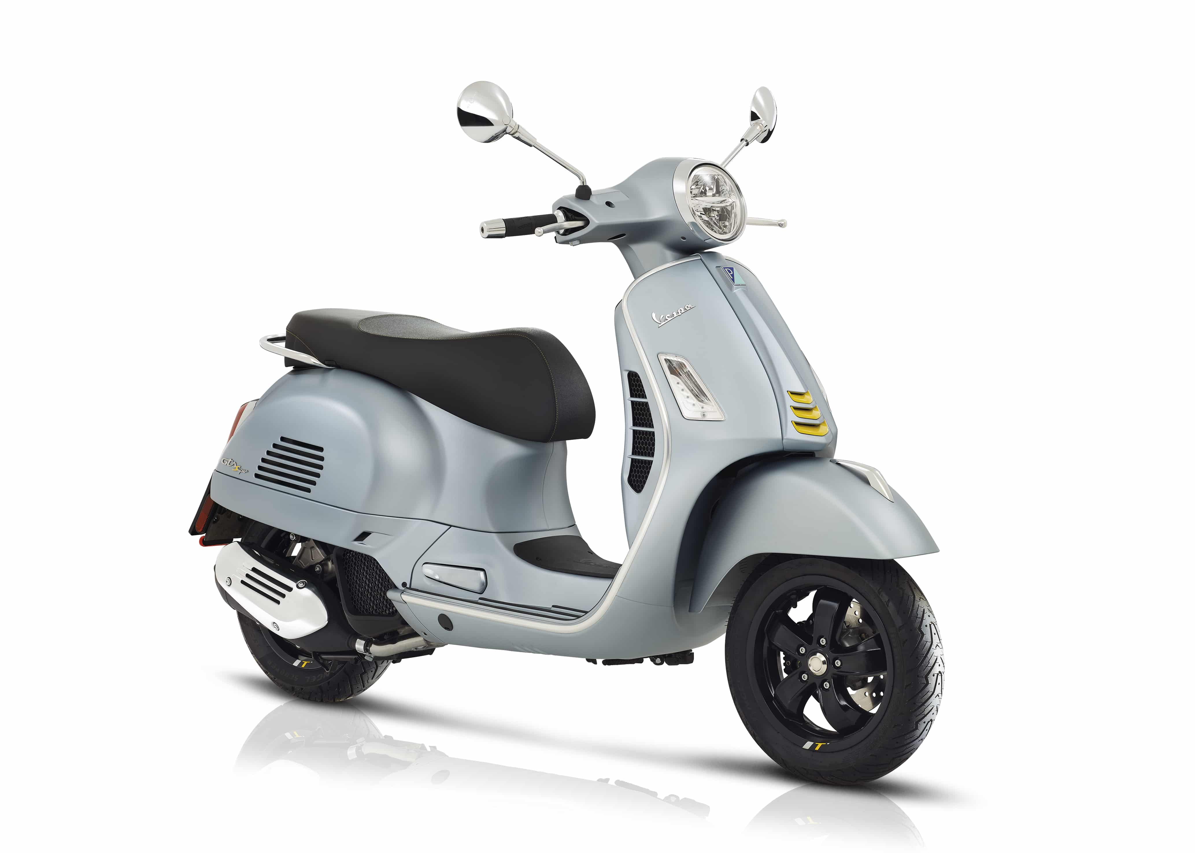 Vespa GTS Super tech grijs
